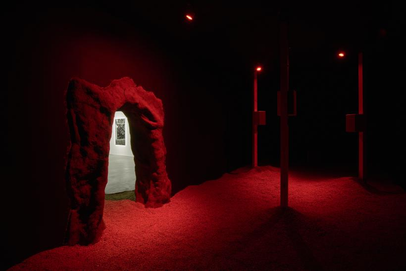 Libita Clayton, Quantum Ghost, 2019. Installation view.