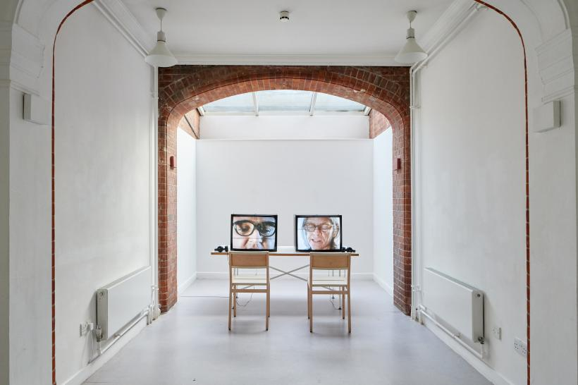 Beatrice Gibson, For Eileen, For CA, Installation View, Camden Arts Centre, 2018