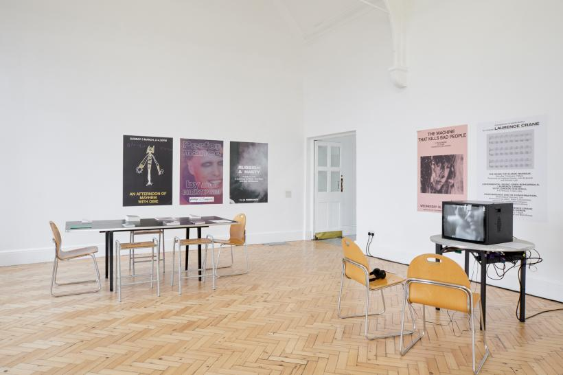 Beatrice Gibson, Crone Music, Installation View Gallery 3