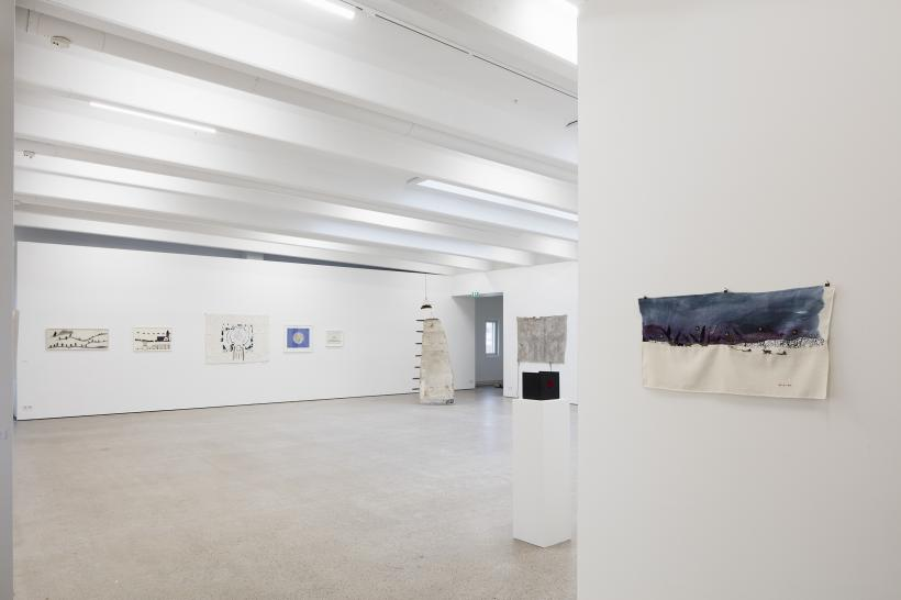 Britta Marakatt-Labba: History in Stitches, installation view at Kohta, Helsinki, 2019