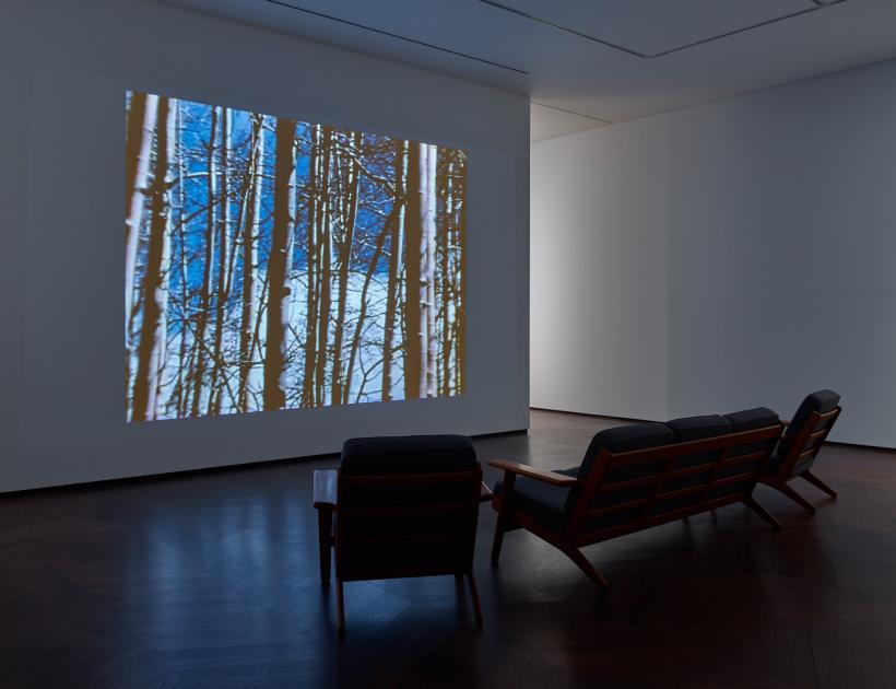 FOCUS: Agnes Martin. Installation view, Levy Gorvy, London, 2019.