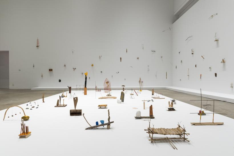Cecilia Vicuna: About to Happen, February 1 – March 31, 2019, installation view, Institute of Contemporary Art, University of Pennsylvania. Photos: Constance Mensh