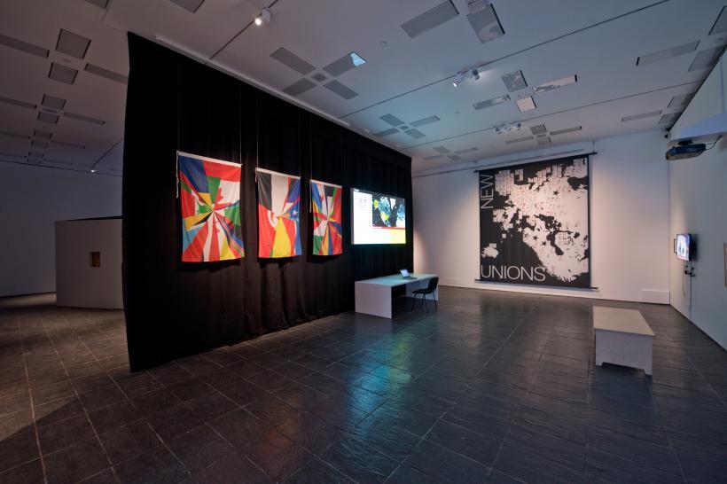 Digital Citizen, The Precarious Subject installation view, BALTIC Centre for Contemporary Art, Gateshead