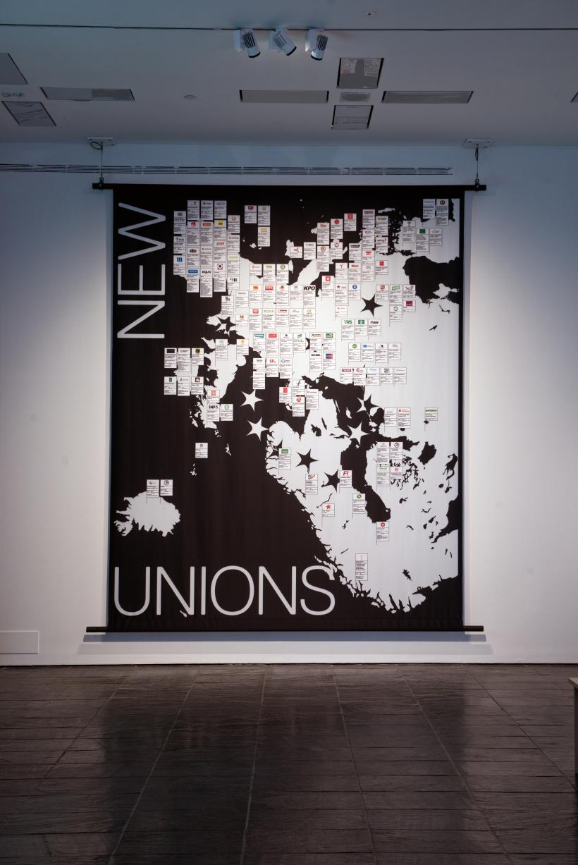 New Unions (Third Draft), Part of Digital Citizen, The Precarious Subject, BALTIC Centre for Contemporary Art, Gateshead