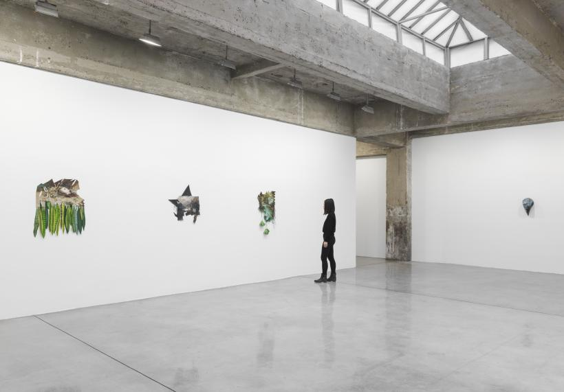 Installation view of I hope this finds you well.., Tanya Bonakdar Gallery, New York, February 21 to April 4, 2019.