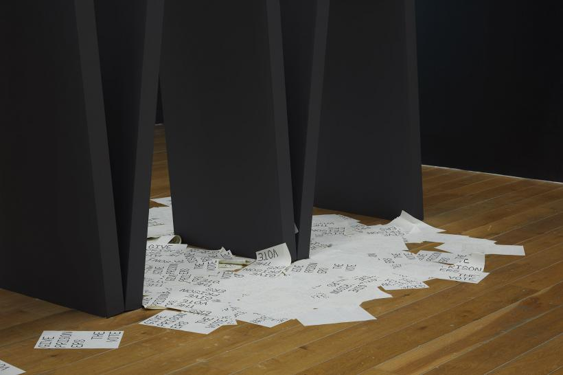 Elizabeth Price: FELT TIP, 2019, installation view of Nottingham Contemporary