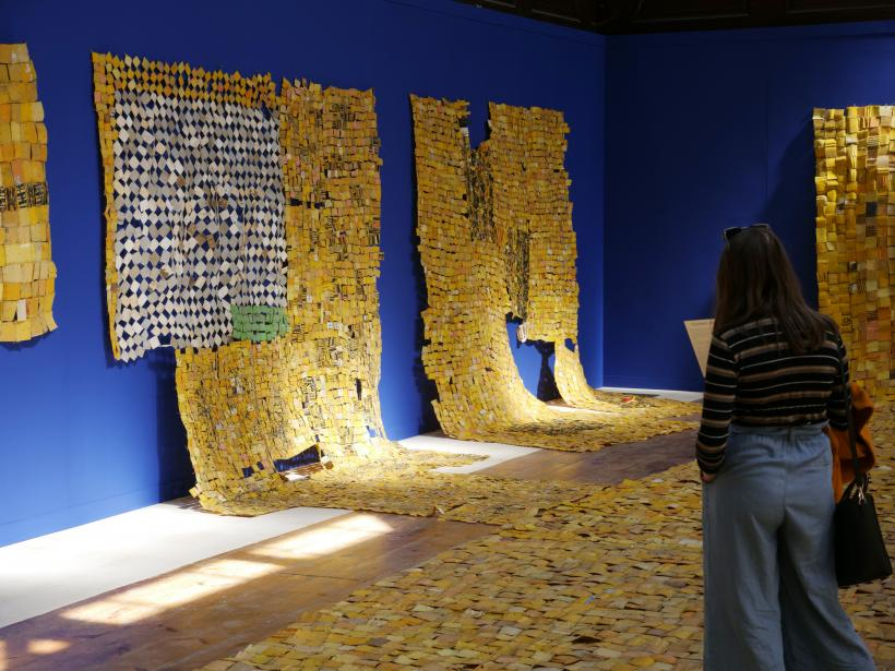 Serge Attukwei Clottey: Current Affairs, Fabrica, 18th April - 27th May 2019