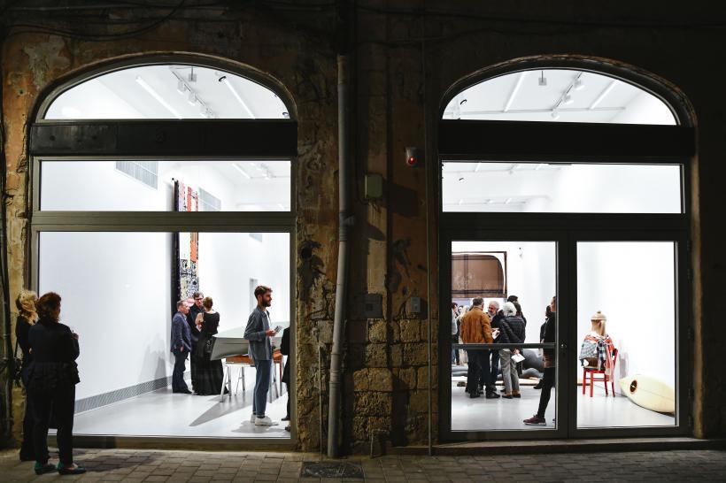 Ocean and Caffeine, Cosima von Bonin, installation view, Magasin III Jaffa, exterior