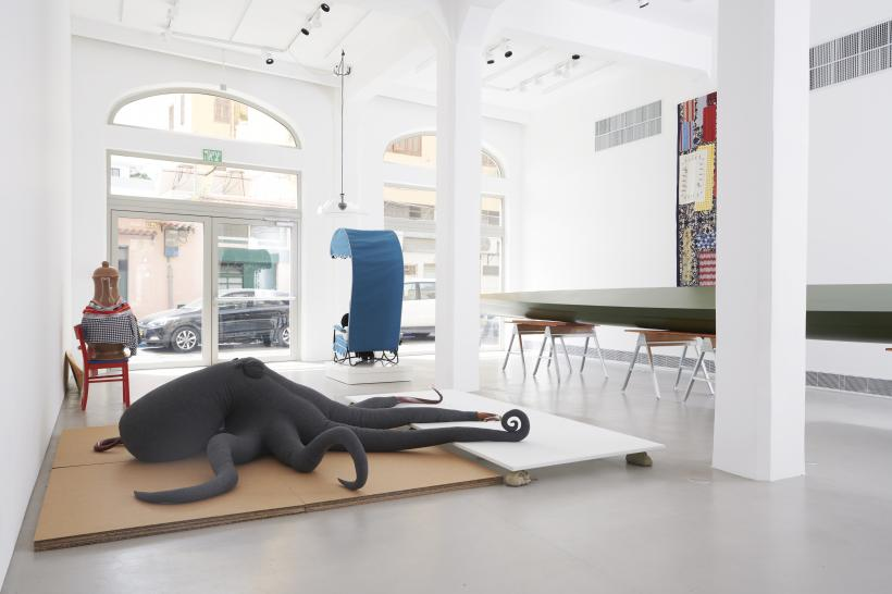 Ocean and caffeine cosima von bonin installationview magasiniijaffa photo noampreisman 5-2