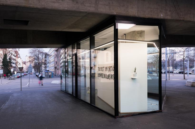 If it's not meant to last, this it's Performance, 2019. Installation view. VITRINE, Basel.