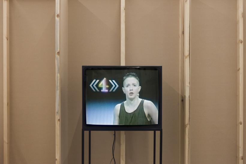 Installation view of I, I, I, I, I, I, I, Kathy Acker at ICA, London, 2019