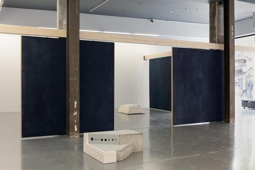 staring forms, installation image, Temple Bar Gallery + Studios.