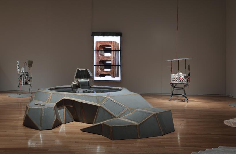 "Tom Sachs ""Tea Ceremony"" installation view"