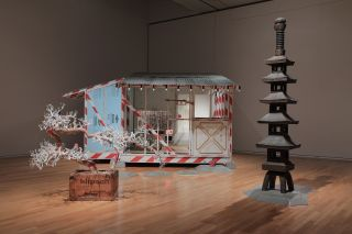 "Tom Sachs ""Tea Ceremony"" installation view"