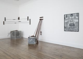 Installation view, Senga Nengudi, Sprüth Magers, London, 7 June - 13 July 2019