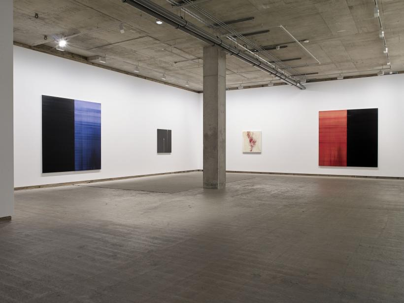 Installation view, Callum Innes: Keeping Time