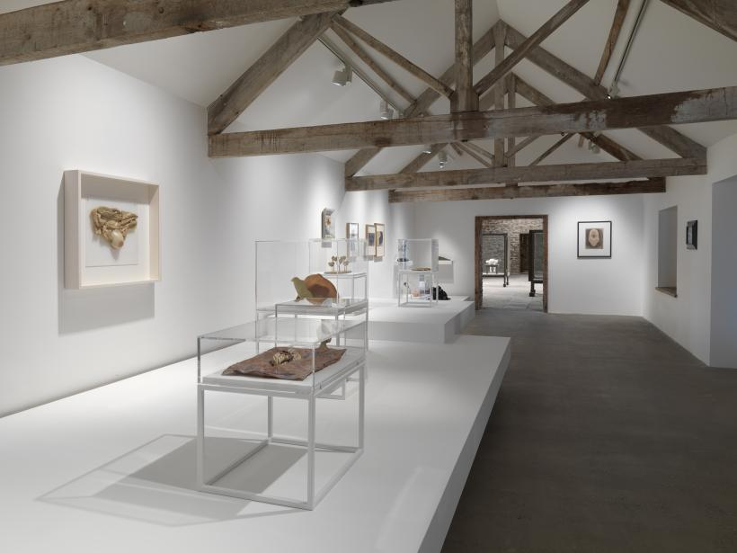 Installation View, Unconscious Landscape. Works from the Ursula Hauser Collection, 2019, Hauser & Wirth Somerset