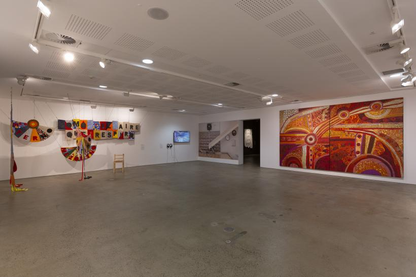 Installation view, John Fries Award 2019: There is Fiction in the Spaces Between