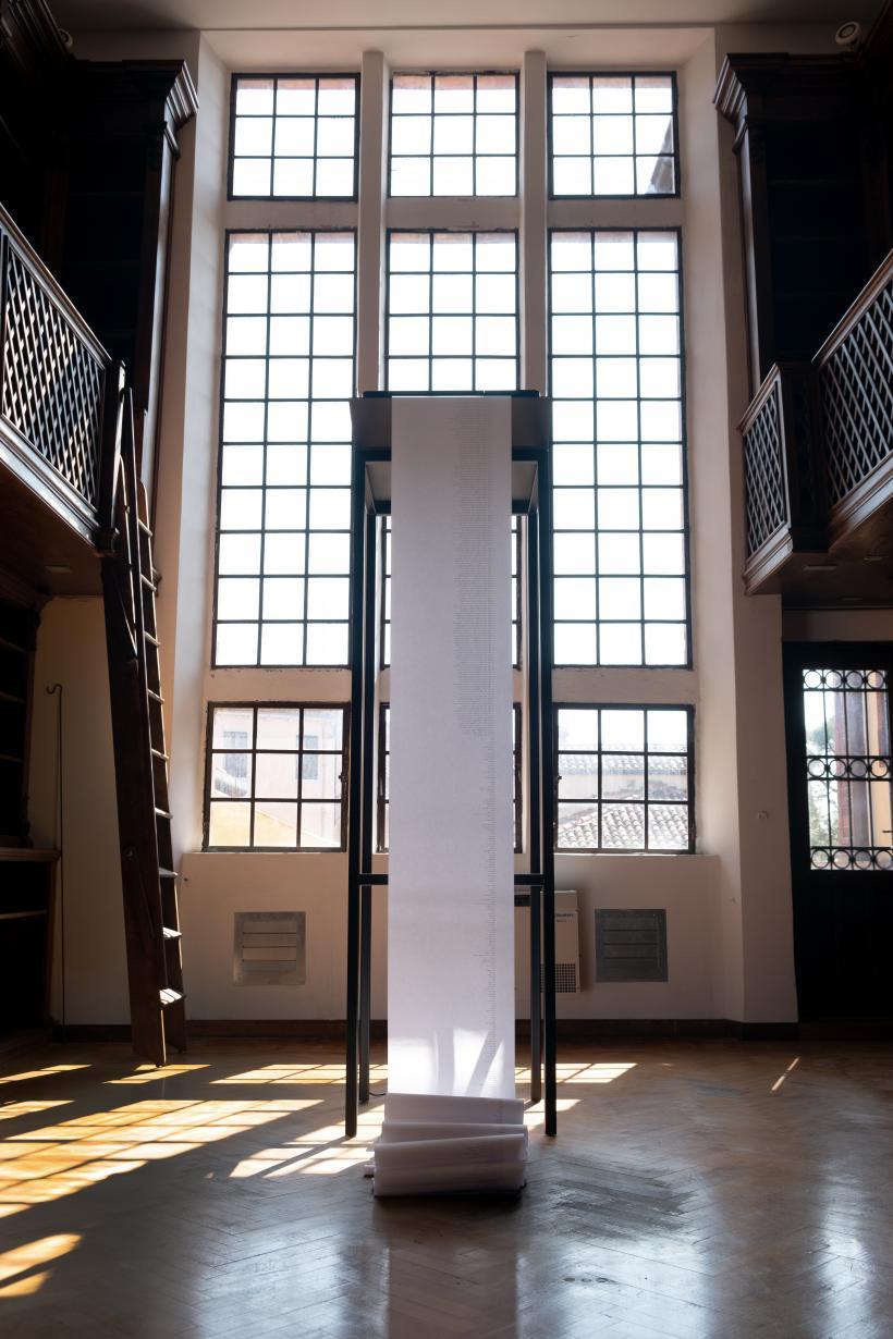 Dane Mitchell, Post hoc (detail), 2019. Mixed media installation. Palazzina Canonica, New Zealand Pavilion, 58th International Art Exhibition - La Biennale di Venezia