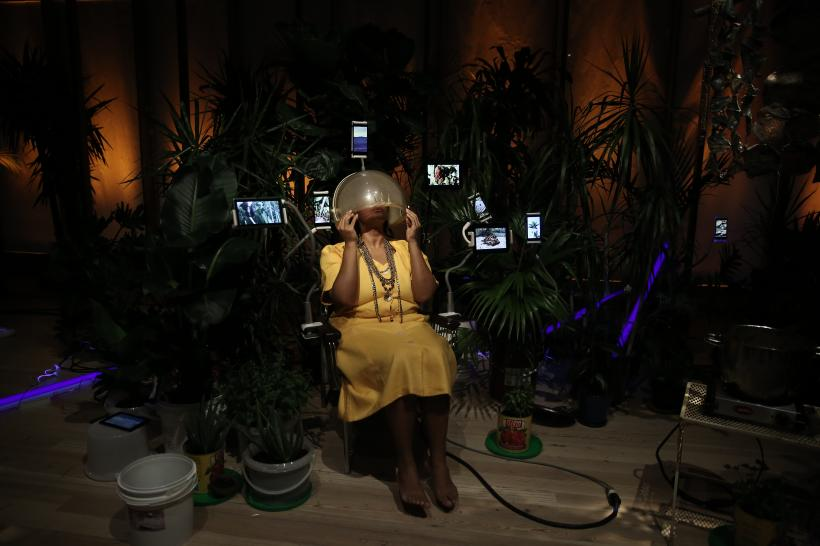 Las Nietas de Nono, June 28, 2019, at the Whitney Biennial 2019, Whitney Museum of American Art