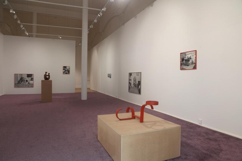 Installation shot of Joanna Piotrowska