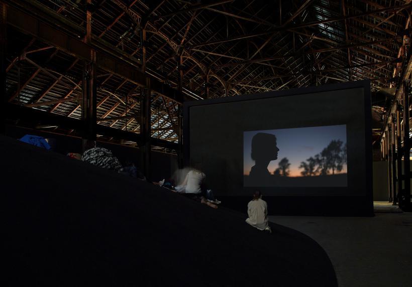 Rachel Rose, Enclosure, Luma Arles, Grande Halle, Parc des Ateliers, Arles (France), July 1 - September 22, 2019