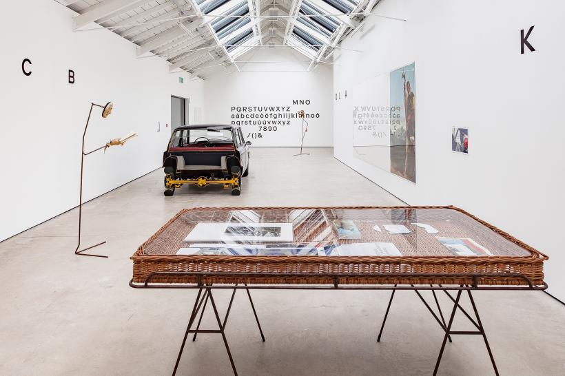 Installation view, A - A', B - B', The Modern Institute, Osborne Street, 2019