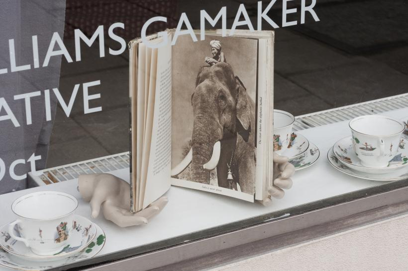 DISTANT RELATIVE, Michelle Williams Gamaker, Installation view, Tintype, London, 2019