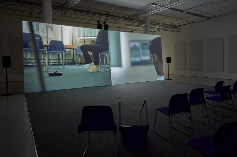 the destructors, Installation view, Spike Island, Bristol