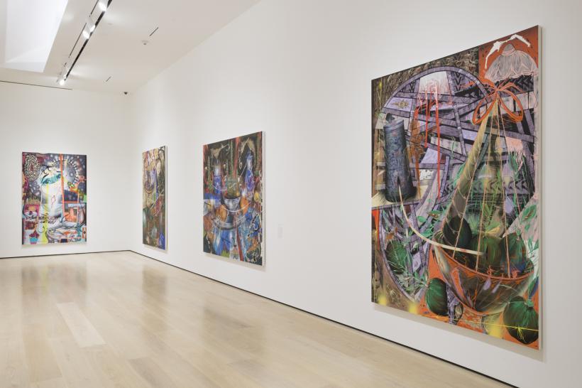 Lari Pittman: Declaration of Independence, installation view, Hammer Museum, Los Angeles, September 29, 2019-January 5, 2020