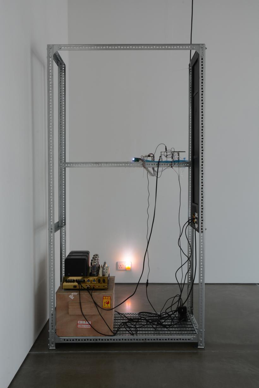 Yuri Pattison, installation view, to do, doing, d̶o̶n̶e̶, mother's tankstation London, true time master, 2019