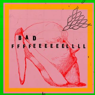 Benedict Drew, Bad Ffffeeeeeellll, 2019, Digital print on vinyl, 150 x 150 cm