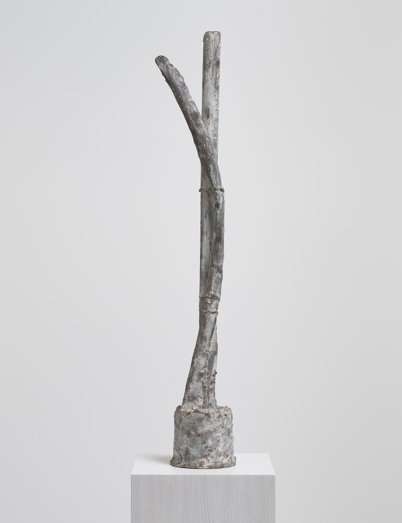 Cy Twombly, Untitled (St. Sebastian), bronze, 1998