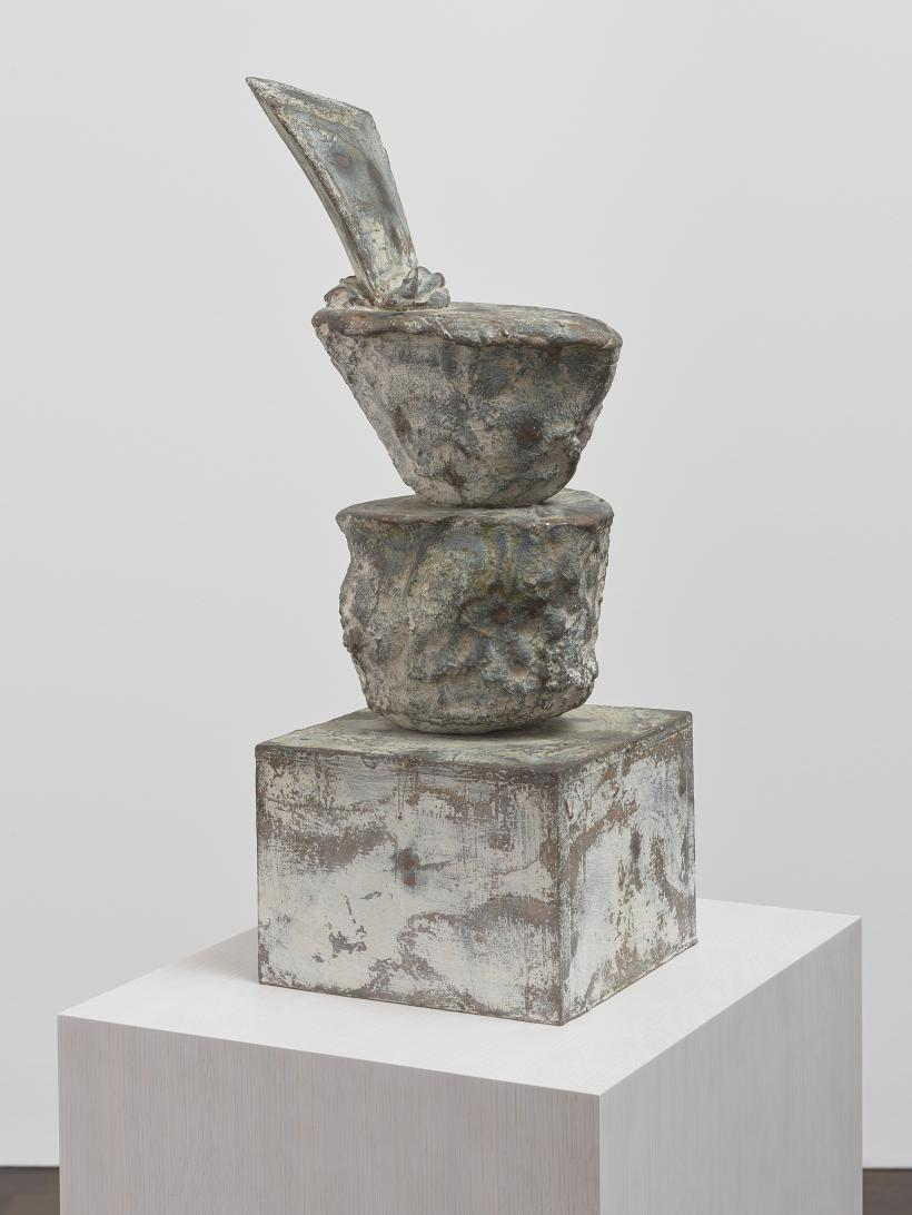 Cy Twombly, Untitled, bronze, 2004