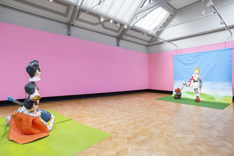 Jamie Fitzpatrick, He He He He, 2019. Installation view. Contemporary Forward at Touchstones Rochdale.