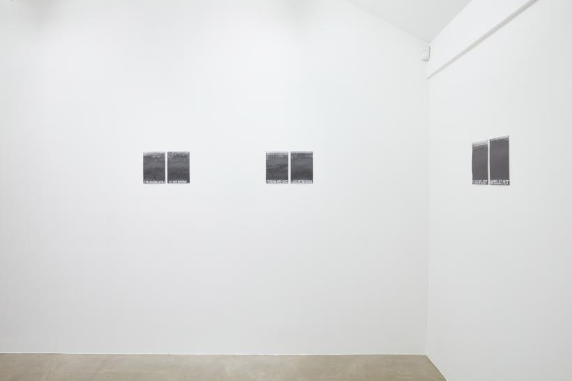 Libita Clayton, spirit, 2019 (5 pairs of drawings, Graphite on paper, each drawing 21 x 29.7cm)