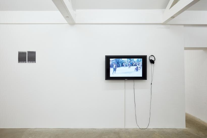 Ashley Holmes, Space for Listening; The Likeness, 2019 (Sound Installation, photographs, found objects, two-channel sound 30.00' sound loop)