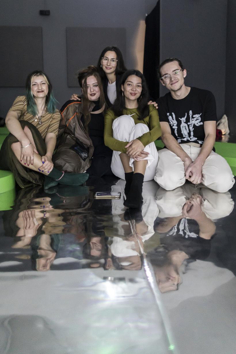 Artist group making up Keiken