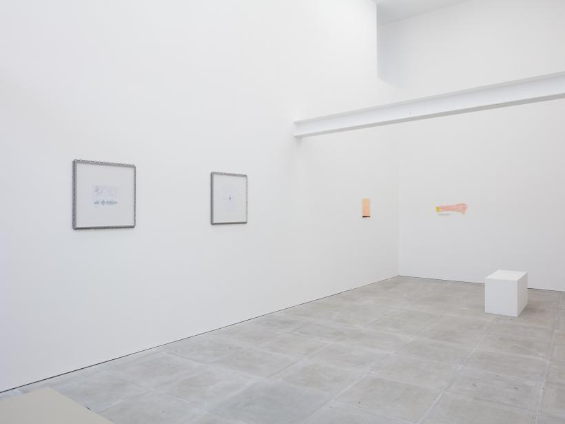installation view, Chips and Egg, The Sunday Painter