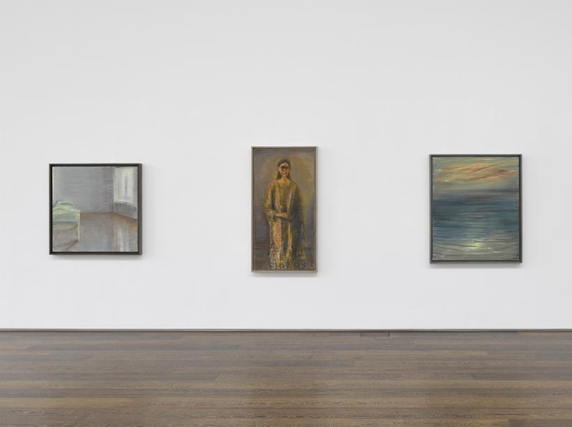Installation view, Celia Paul, 13 November - December 2019.
