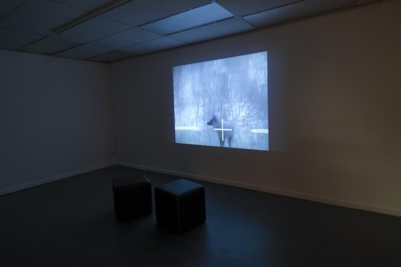 Installation photograph, Now You See Me: Visualising the Surveillance State