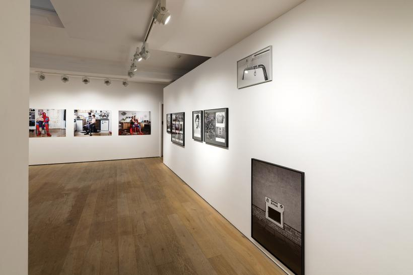 Matrescence, installation view, Richard Saltoun Gallery London.