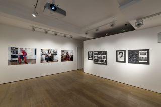 Matrescence, installation view, Richard Saltoun Gallery London.