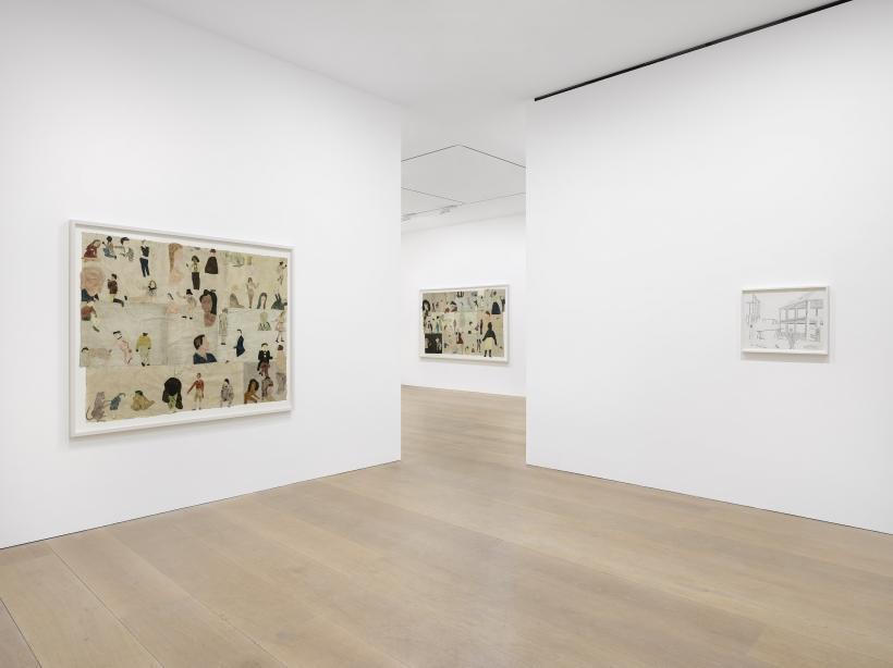Installation views of Jockum Nordström: The Anchor Hits the Sand at David Zwirner London, 22 November 2019 - 19 December 2019.