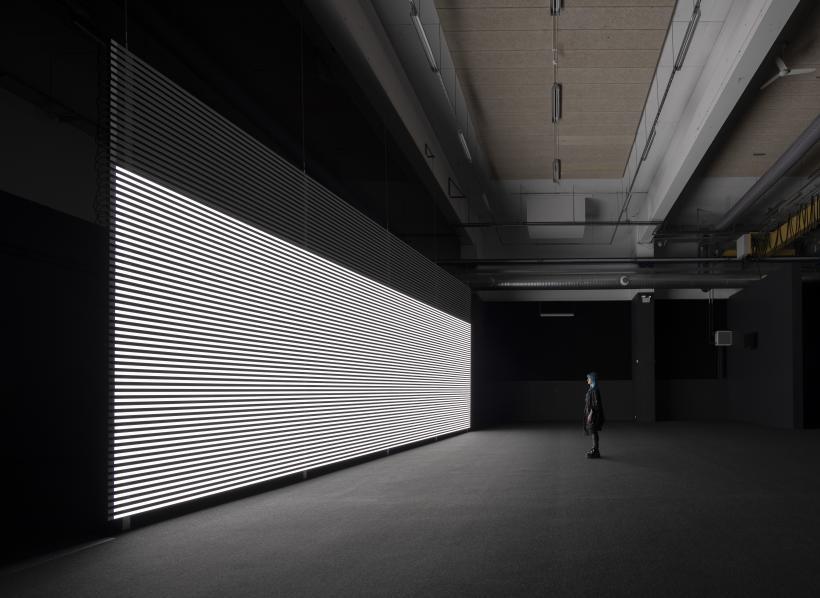 Faint with Light, Installation view of SEIZURE at Copenhagen Contemporary, Copenhagen, 2019