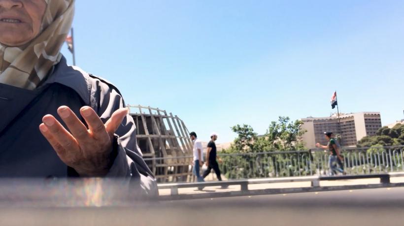 ZouZou Group, Damascus Street, still from – door open –, 2019