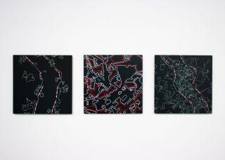 Dividing Lines, installation
