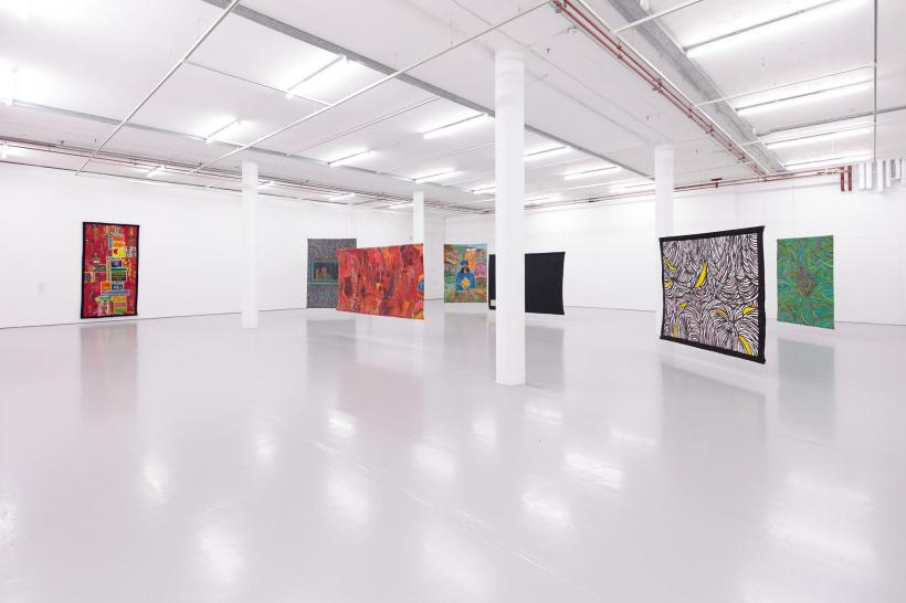 Life in the Margins (2020) Installation view, Spike Island, Bristol