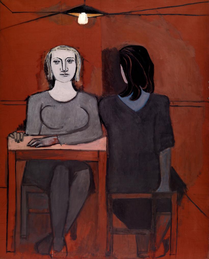 Dora Maar, The Conversation,1937. Oil on canvas 162 x 130 cm