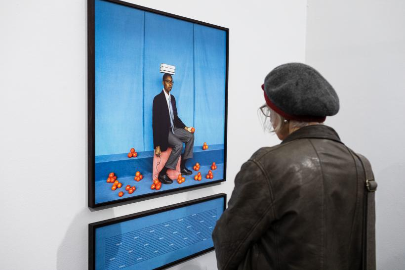 Silvia Rosi, Jerwood/Photoworks Awards 2020 supported by Jerwood Arts and Photoworks. Installation view at Jerwood Space, London